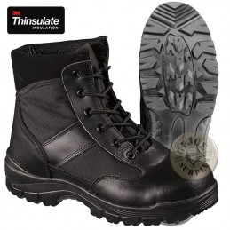 TACTICAL BLACK SECURITY LOW BOOTS