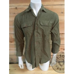 US ARMY WWII  FLANELL SHIRT  AS NEW /COLLECTORS ITEM