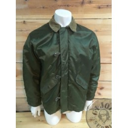 "US ARMY WATERPROOF COLD WEATHER ""BARBOUR"" JACKET MEDUM USED /UNIQUE PIECE"