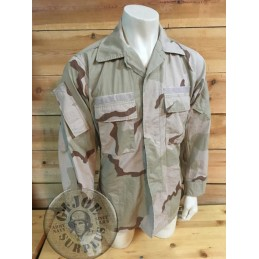 "BDU MODIFIED ""CCU""  DESERT 3 COLORS JAQUET ""STRIKE,SPECIAL FORCES,SEALS"" MEDIUM /COLLECTORS ITEM"