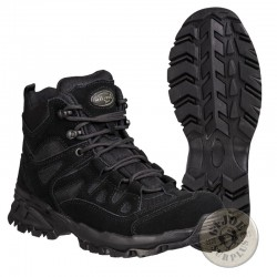"TACTICAL TREKKING BOOTS ""SQUAD"" / BLACK COLOUR"