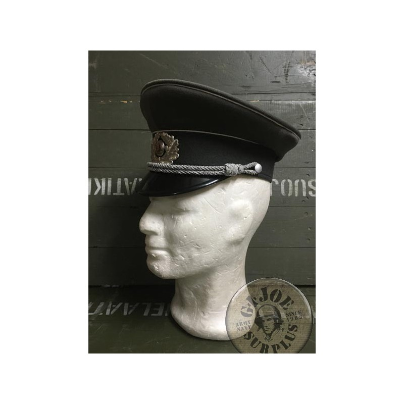 EAST GERMAN OFFICERS ARMY CAP /NEW