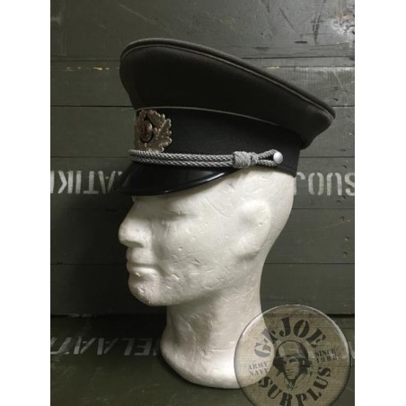 EAST GERMAN OFFICERS ARMY CAP NEW