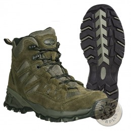 "TACTICAL TREKKING BOOTS ""SQUAD"" / GREEN COLOUR"