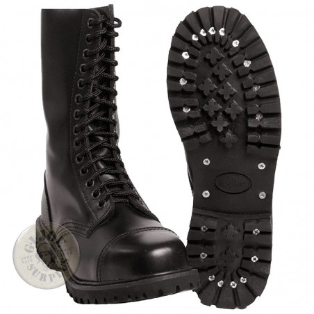 """INVADER"" LEATHER 14 HOLES BOOT"