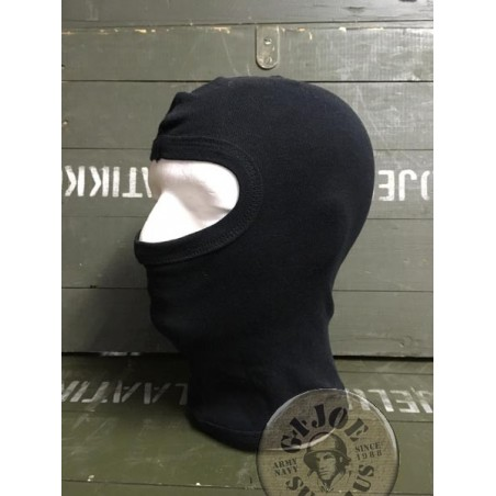 "1 HOLE BALACLAVA ""AGRESSIVE"" 100% COTTON BLACK COLOUR"