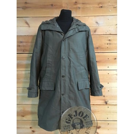 GERMAN ARMY LONG GREEN PARKA NEW /AS NEW