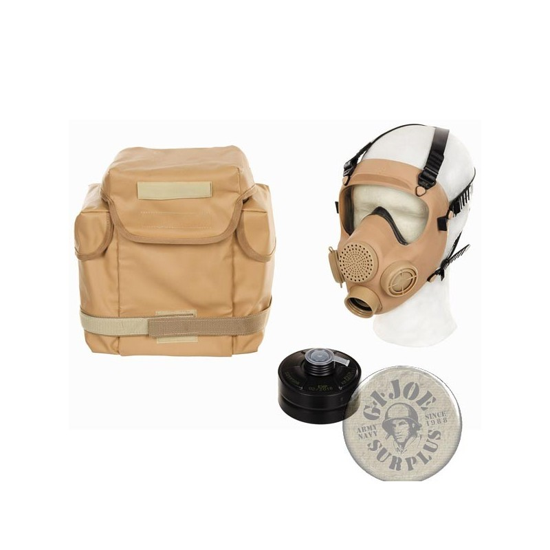 MP5 FRENCH ARMY DESERT GAS MASK AS NEW