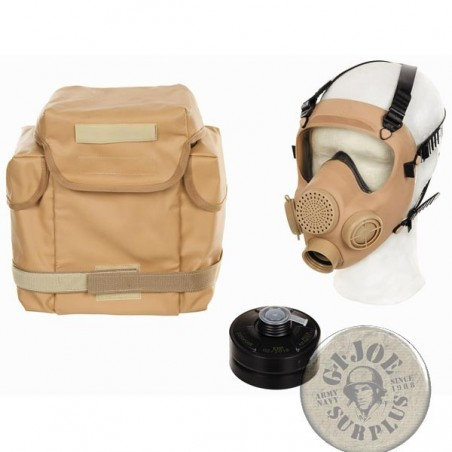 XMP5 FRENCH ARMY DESERT GAS MASK AS NEW