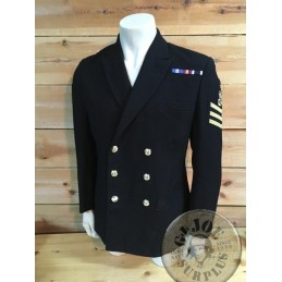 ROYAL NAVY SERGEANT CHIEF PETTY OFFICER OFFICERS JACKET /COLLECTORS ITEM