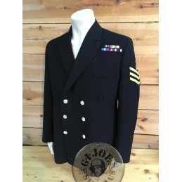 ROYAL NAVY SERGEANT CHIEF PETTY OFFICER OFFICERS JACKET AS NEW /COLLECTORS ITEM