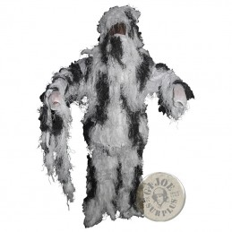 SNIPER GHILLIE SNOW CAMO /4 PIECES SET