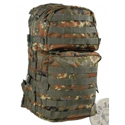 "TACTICAL MODULAR RUCKSACK ""X-LARGE 40 LITERS"" FLECKTARN CAMO"