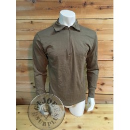 GERMAN ARMY DESERT  LONG SLEEVE NORWEGIAN SHIRT USED PERFECT CONDITION