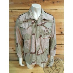 "M65 JACKET US NAVY DESERT 3 COLOURS ""SEABEES"" SMALL REGULAR /COLLECTORS ITEM"