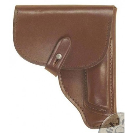 XMAKAROV PISTOL HOLSTER BROWN DDR ARMY USED