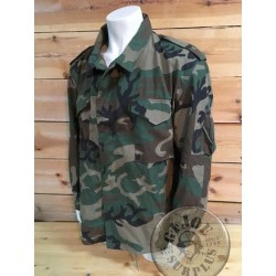 M65 USAF AIRCREW NOMEX WOODLAND CAMO JACKET XLARGE REGULAR NEW /UNIQUE PIECE