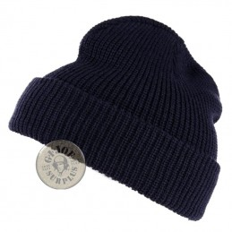 WATCH CAP ACRILIC NAVY BLUE COLOUR