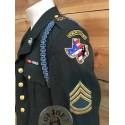 US ARMY HONOR GUARD TEXAS VETERANS CLASS A JACKET COMLETE /COLLECTORS ITEM