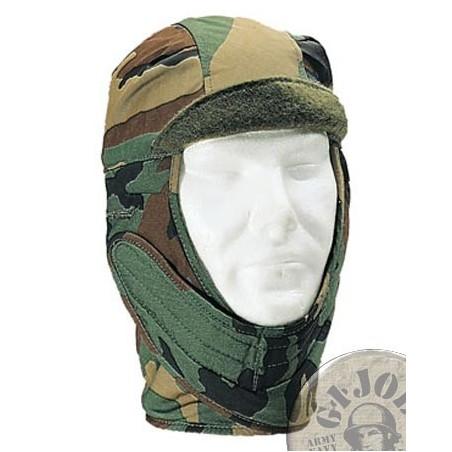 GORRA INVERNAL US ARMY CAMO WOODLAND COMO NUEVAS