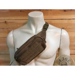 "TACTICAL KIDNEY BAG ""LIGHT"" COYOTE COLOUR"