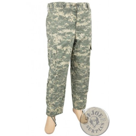 US ARMY ACU AT DIGITAL TROUSERS NEW