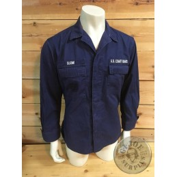 USCG OPERATION SHIRT T-40R USED