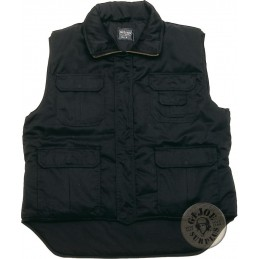 WINTER PADDED VEST BLACK COLOUR