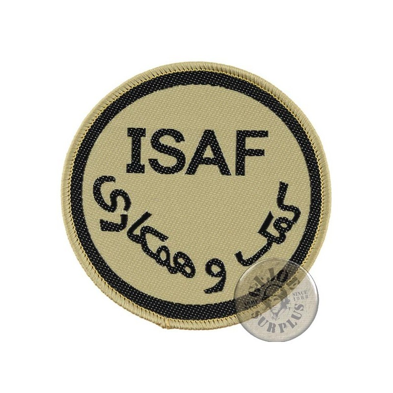 "BRITISH ARMY ""ISAF"" PATCH NEW"