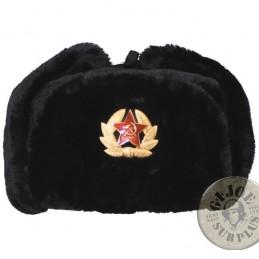SOVIET UNION ARMY REPLICA USHANKA HATS