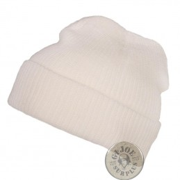 WATCH CAP ACRILIC NAVY WHITE COLOUR