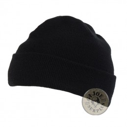 "ACRILIC WATCH CAP ""FINE"" BLUE COLOUR"