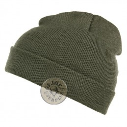 "ACRILIC WATCH CAP ""FINE"" GREEN COLOUR"