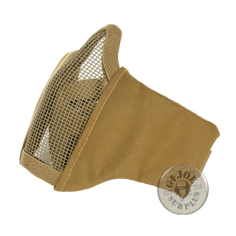 """PROTECTION MASK """"AIRSOFT PLUS"""" COYOTE COLOUR"""