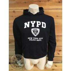 "SUDADERA CAPUCHA ALGODON ""NYPD"" NEW YORK POLICE DEPARTMENT"