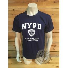 "CAMISETA M/CORTA ALGODON AZUL ""NYPD NEW YORK POLICE DEPARTMENT"""