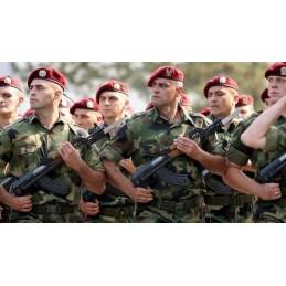 SERBIAN ARMY M89/93 CAMO COMBAT SHIRTS USE CONDITION