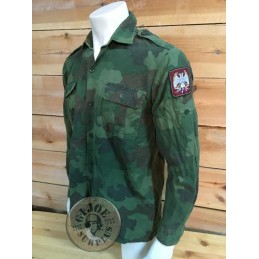 SERBIAN ARMY M89/93 CAMO COMBAT SHIRTS USE CONDITION