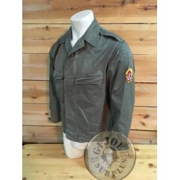 EAST GERMAN MILITA TROOPS JACKET USED