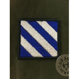 """US ARMY GENUINE PATCH 3rd INFANTRY DIVISION """"ROCK OF THE MARNE"""""""