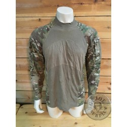 TACTICAL LONG SLEEVE UBAC US ARMY MULTICAM CAMO USED CONDITION