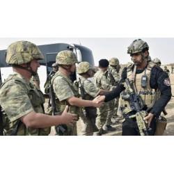 TURKEY ARMY DIGITAL CAMO COMBAT SHIRT USED CONDITION