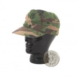 SLOVAKIAN VZ97 WOODLAND CAMO FIELD CAP NEW