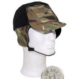 BRITISH ARMY MTP CAMO GORETEX WINTER CAP USED