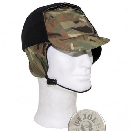 BRITISH ARMY MTP CAMO GORETEX WINTER CAP USED