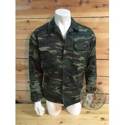 TURKISH ARMY FIELD LIGHT JACKET WOODLAND CAMO /COLLECTORS ITEM