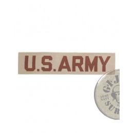 "PARCHE TAB PECHO ""US ARMY"" KHAKI DESERT"