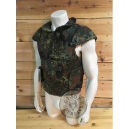 GERMAN ARMY FRAG VEST FLECKTARN CAMO NEW