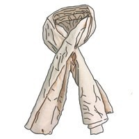 SCARFS AND RAGS
