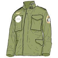 US BARRACKS CLASS B CLOTHING